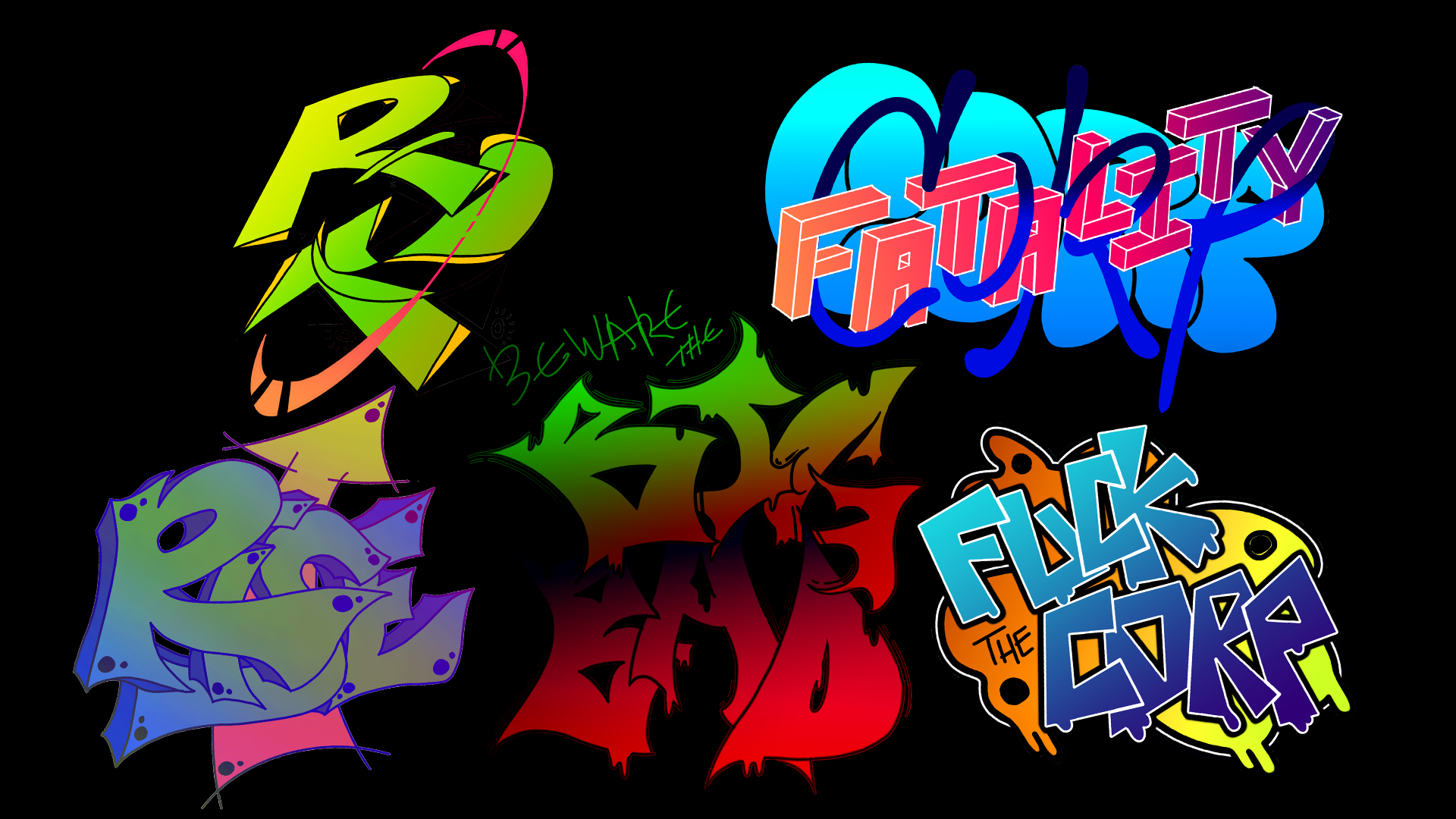Decal Design : Graffiti